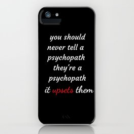 Killing Eve - Sorry Baby -quote-Villanelle iPhone Case