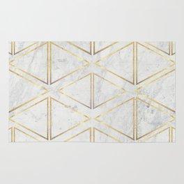 gOld rhombus Rug