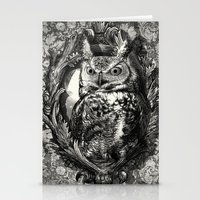 eric fan Stationery Cards featuring Nightwatch - by Eric Fan and Garima Dhawan  by Eric Fan