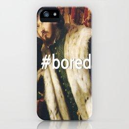 #BORED iPhone Case