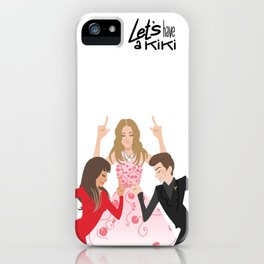 Let's have a kiki iPhone Case