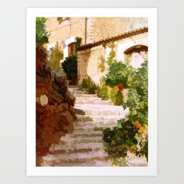 The light of Mallorca - Espana Art Print