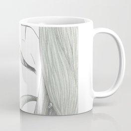 Fed Up Eyes Coffee Mug