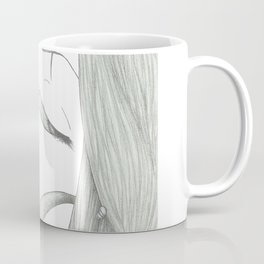 Fed Up Eyes Coffee Mug