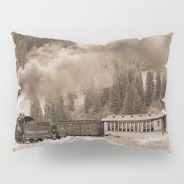 Steam Hauled Train - Engine 486 Pillow Sham