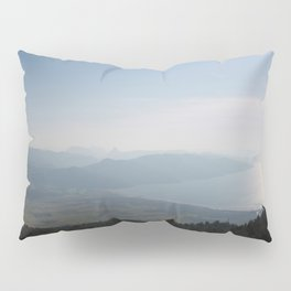 Cool Blue Sky and Green Plains of Gokova from Sakartepe Pillow Sham
