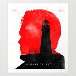 Shutter Island - Movie Poster Art Print