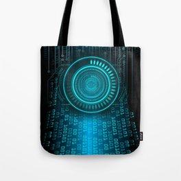 Futurist Matrix | Digital Art Tote Bag