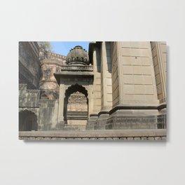 Palace in Maheshwar Metal Print