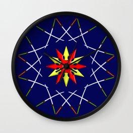 Katana Sword Design version 3 Wall Clock