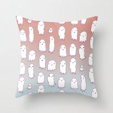 Lil Ghosties Throw Pillow