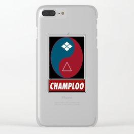 Yin Yang Samurai Balance Clear iPhone Case
