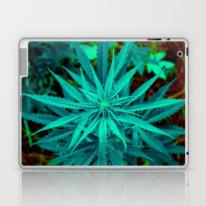 Twisted Frosty Weed Laptop & iPad Skin