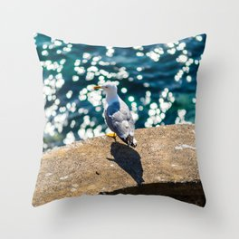 Another Seagull Throw Pillow