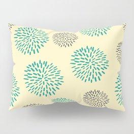 Pastel Yellow Burst Pillow Sham