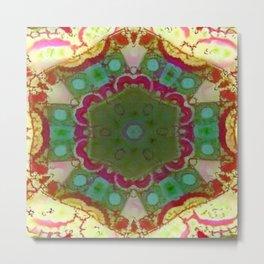 Abstruse Geometry Kaleidoscope Metal Print
