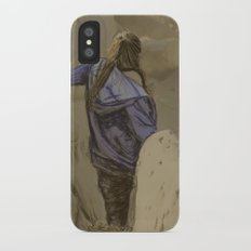 Hiking in the Desert iPhone X Slim Case