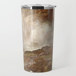 Yoho Falls by John Singer Sargent - Vintage Fine Art Oil Painting Travel Mug