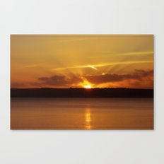 Cornish Sunset Canvas Print