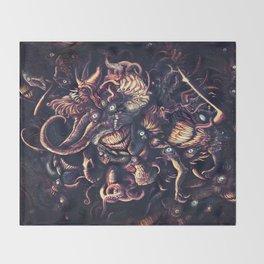 Azathoth Throw Blanket