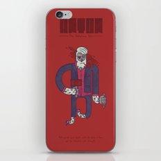 Anton, The Valentine's Yeti iPhone & iPod Skin