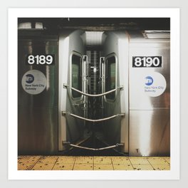 NY Subway Art Print