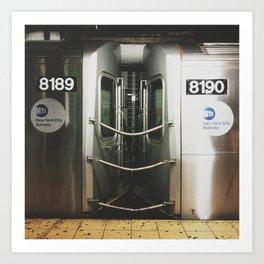 NY Subway Art Print