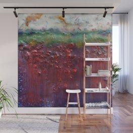 Colors of the Season (christmas abstract) Wall Mural