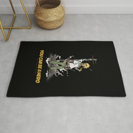 You can be a Hero Rug