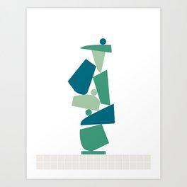 Stack (D) Art Print