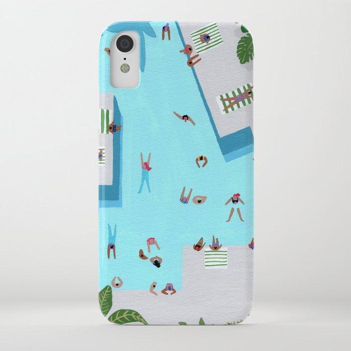 Crisp cut swim iPhone Case