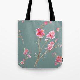 2016 Calendar Print - Cherry Blossoms Tote Bag