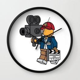 Director's Cut Wall Clock