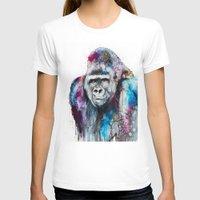 gorilla T-shirts featuring Gorilla by Slaveika Aladjova