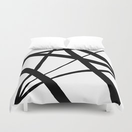 A Harmony of Lines and Shapes Duvet Cover