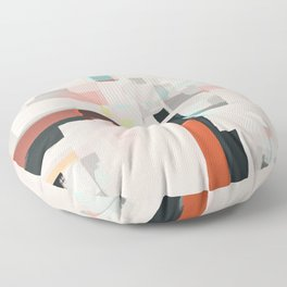 Abstract Painting No. 7 Floor Pillow