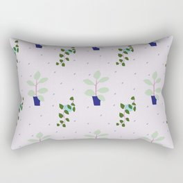 My favourite indoor plants (that I struggle keeping alive) Rectangular Pillow