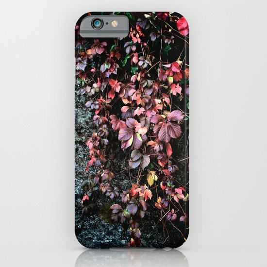 Red Leaf iPhone & iPod Case