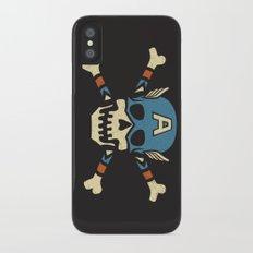 Captain 'Jolly' Rogers  Slim Case iPhone X