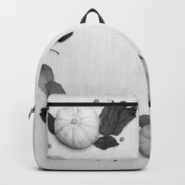 Harvest Circle (Black and White) Backpack