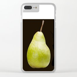 The Perfect Pear Clear iPhone Case