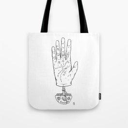 Climber's Hand Pt.1 Tote Bag