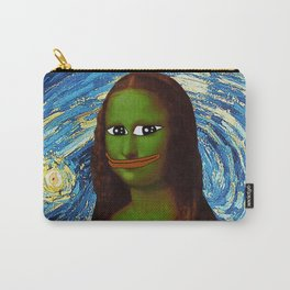 Pepe Mona Lisa/Starry Night Carry-All Pouch