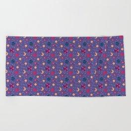 Universe Pattern Beach Towel