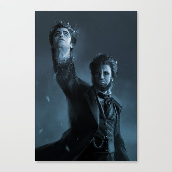 ABE THE HUNTER Canvas Print