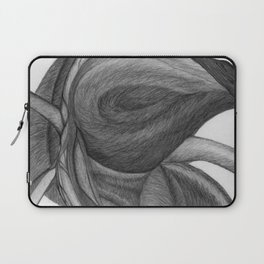 The Dream in Black and White Laptop Sleeve