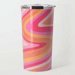 Sunshine Melt – Pink & Peach Palette Travel Mug