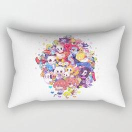 UNDERTALE MUCH CHARACTER Rectangular Pillow