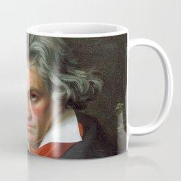 Joseph Karl Stieler - Portrait of Beethoven Coffee Mug