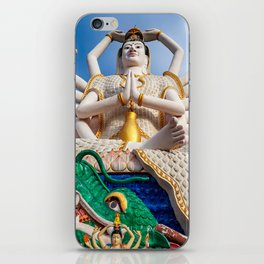 Goddess of Compassion iPhone Skin